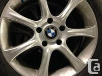 Winter and Rain tire package for my old BMW (just sold