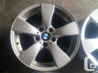 Four style 138 BMW wheels 17 x 7.5 five on 120mm bolt