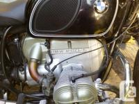 BMW 1971 R60/5 - 47k miles, updated to Corbin Two