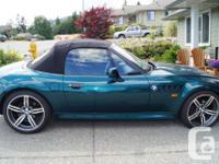Make BMW Model Z3 Colour Green Trans Manual Good
