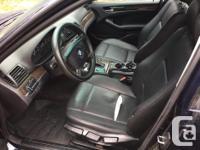 Make BMW Model 320i Year 2001 Colour blue kms 20900