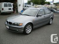 . Make. BMW. Design . 325i. Year. 2005. Colour. Grey.