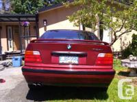 Make BMW Model 328i Year 1996 Colour Red kms 280000