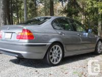 Make BMW Model 330 Year 2004 Colour Grey kms 211000