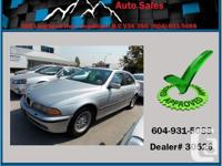This 2000 BMW 528i is super clean! It comes with alloy