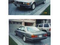 1991 BMW 735IL  Light silver/grey  183km  Fully loaded,