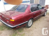 Make BMW Model 735 Year 1990 Colour red,