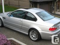 Make BMW Model M3 Year 2002 Colour Titanium Silver kms