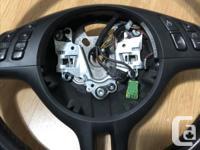 For Sale: E46 sport steering wheel. off a 2004 325ci.