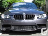 Now available: 2-owner 2008 BMW e92 M3 with 71K miles.