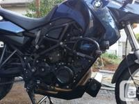 Year 2012 kms 22500 2012 BMW F650GS Twin in excellent