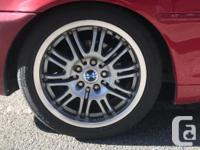 Mint condition M sport style wheels and tires combo.