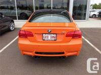 Make. BMW. Version. M3. Year. 2013. Colour. Orange.