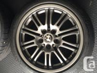 Factory BMW M3 Wheels and MIchelin Sport PS2 Tires