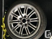Factory BMW M3 Wheels and Continental ContiSportContact