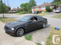 Make BMW Model 3 Series Year 2000 Colour black kms