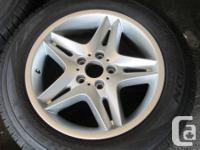 """BMW X5 OEM Original 18"""" alloy wheels and Pirelli"""