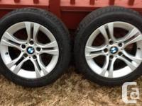 "OEM 3 series 16"" rims- rims are in mint condition- no"