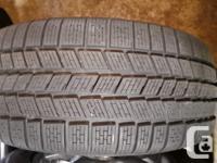 Set of 4 Pirelli Scorpion Snow Tires, 255/55R18 on BMW