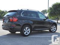 Make BMW Model X5 Year 2011 Colour Black kms 52405