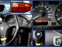 1997 BMW Z3 Roadster Convertible.  Qualified low gas