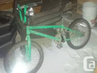 Hey all, I have a green GT BMX for sale, $100 it just