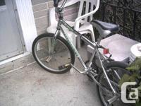 (BLANK) DIABLO BMX BIKE.  CHROME/MOLY FRAME with full