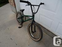 This is a GT Slammer BMX bike in excellent shape - only