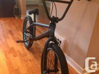 Selling one of our bmx bikes. Bought near new and