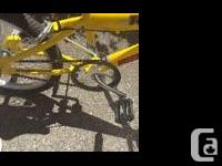 In amazing condition used once bought a new bike can�t