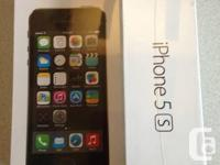 BNIB iPhone 5s 16gb unlocked silver and black  Brand