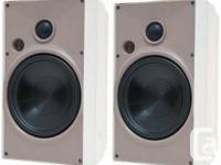 BNIB Proficient Audio Systems AW650WHT 6.5-Inch