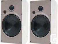 BNIB Proficient Audio Systems AW650WHT 6.5-Inch