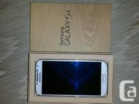 Hello folks I am selling brand new Samsung s4 white in