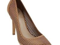 This lasercut leather pump from Vince Camuto is simply