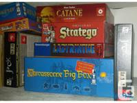 Board games to seel. 140$ for everything (or