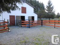 I currently have 2 stalls available for horse/pony