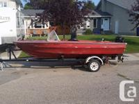 Hi I have a 14 foot fiberglass boat and trailer for