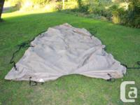 17 Feet High Quality Travel Boat Cover. Fits Boats with