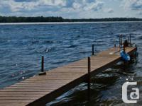 Available For Sale:. MANAGED WOOD DOCK (3 lengths