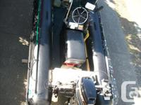 BOMBARD 4.3 METER INFLATABLE 25 HP MERC OUTBOARD LOW