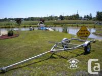 2 place galvanized canoe/kayak trailer from Load Rite