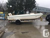 1963 tri hull thunderbird boat. New windshield and