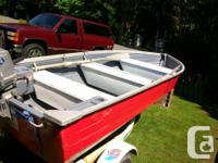 12 Foot MirrorCraft Aluminum Boat, does not leak.