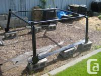 Heavy duty constructed boat rack that can be used with