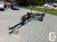 Boat trailer for sale.  Fits 12' to 14' boats.  Please