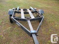 Boat trailer in good shape , Trailer from ontario had