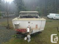 18 foot Double Eagle boat on Road Runner trailer. Boat