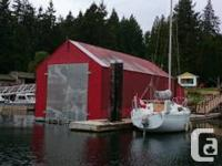 If desired, living quarters.  The watercraft home is