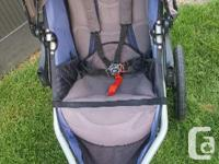 Awesome stroller Had a tear on the handle so o put tape